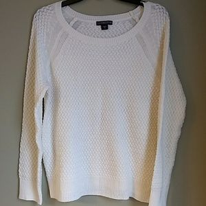 Covington basket weave sweater